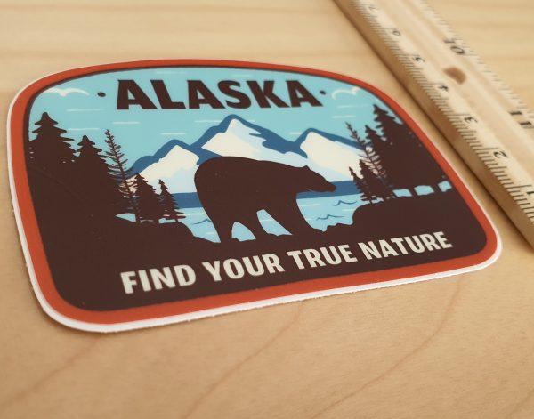Alaska - naklejka