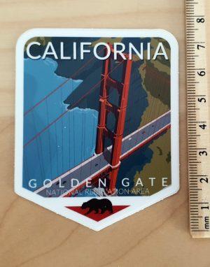 California- naklejka z San Francsico