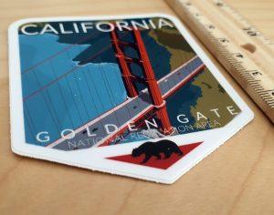 Naklejka z Californii (USA)