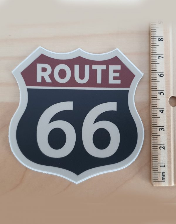 Droga-66-naklejka