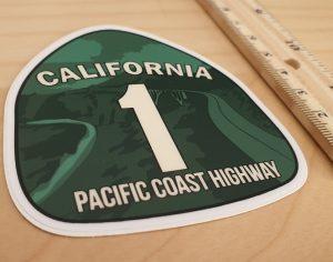 Kalifornia-Naklejka-Z Kalifornii