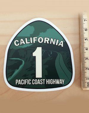 Naklejka z Kalifornii