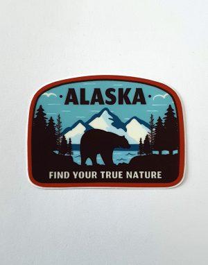 Naklejka z Alaską!