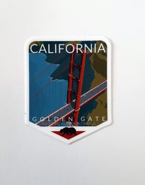California - Naklejka