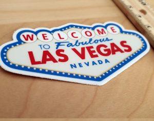 Las Vegas - naklejka z USA