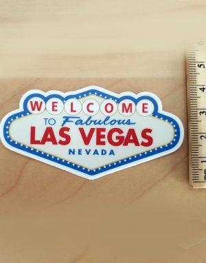 Naklejka z Las Vegas