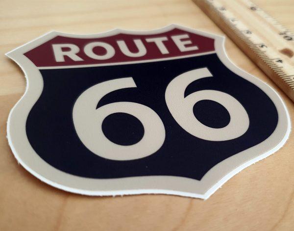 Route-66-naklejka