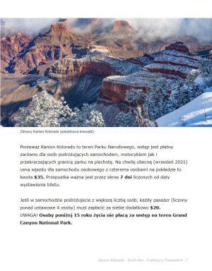 Kanion Kolorado - przewodnik ebook